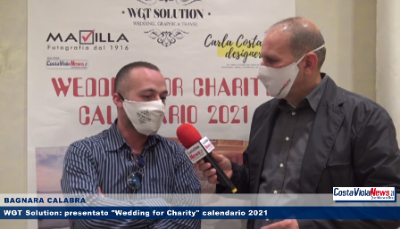 "WGT Solution, presentato a Bagnara Calabra ""Wedding for Charity"" calendario 2021"