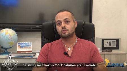 CALABRIAE' - Wedding for Charity, WGT Solution per il sociale