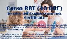 Pubblicato dalla Cooperativa Vitasì il Corso RBT (40 ORE) Tecnico del Comportamento Certificato